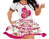 Flat Springtime dress