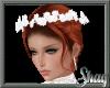 White Rose Wedding Crown