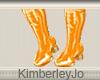 Go Go Boots Orange