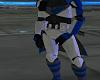 Blue CloneCommader Armor