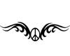 tatoo simbolo de la paz