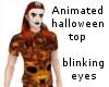 Animated halloween top