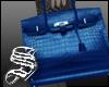siu-office bag BLUE