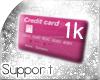 [T] 1k Support Sticker