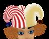 crazyclown hat n hair