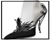Gothic Feathers Shoes