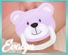 Kids Purple Bear Paci