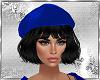Black hair &Blue Cap