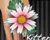 |K< Pnk&Whte Flower