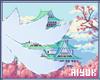 桜 Blu Kitsune Tail ♡