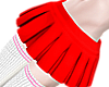 B! Layer Red Skirt M