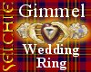 !!S Gimmel Wedding Ring
