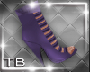 [TB] Liza Booties Purple