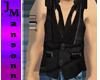 ~JM Blk Denim Shirt/Vest