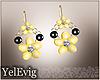 [Y] Bee earrings