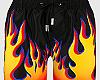 Flames Short
