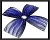 SENS BLUE ceiling drape