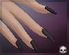 [T69Q] Nails Black