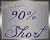 !a 90% Short M/F