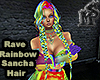 Rave Rainbow Sancha Hair