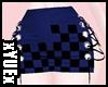 *Y* Karo Blue Skirt