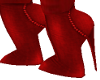 KATE RED SHORT BOOTS