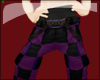 [GG] Purple Plaid Shorts