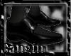 [B] Classic Black Shoes