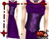Chiton Corset Dress Purp