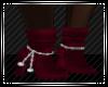 Daek Red Jewel Boots