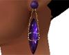 Amethyst Earrings 2