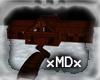 xMDx winter cabin