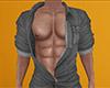 Gray Open Den Shirt 3 M