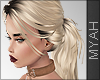 & Ana Hair Bow Blonde