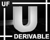 UF Derivable Letter U