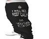 keep calm bottoms