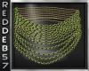 Gold Emerald Choker