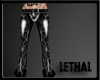 [LS] Leopard pvc gray.