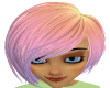 B*rainbow hair*