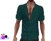 mens teal shirt