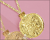 |< Aruan! Coin Necklace!