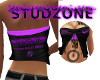 Studzone Purple Sexy Top