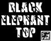 ~F~  Blk Elephant Top