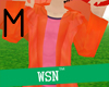 [wsn]RainyCoat#orange