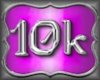 10,000k Support Sticker
