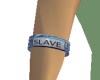 Slave arm band in Denim