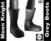 Moon Knight Grey Boots
