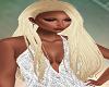 Long Blond Straight Hair
