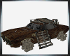 Filthy Rusted Junk Car