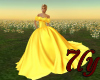 [7ly]Golden BallroomGown